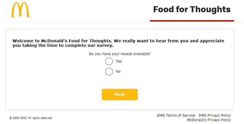 www.McDFoodForThoughts.com Homepage